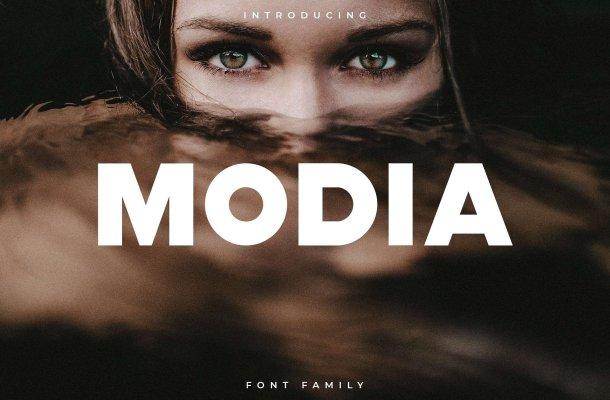 Modia Font Family Free