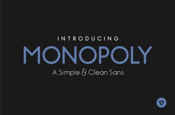 Monopoly Sans Font Free