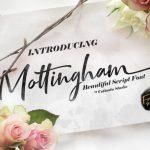 Mottingham Script Font Free