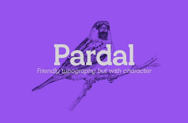 Pardal Font Family Free