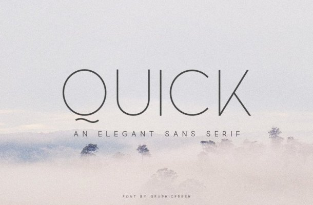 Quick Font Family Free