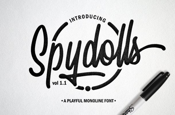 Spydolls Script Font Free