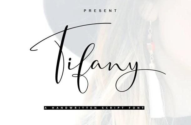 Tifany Script Font Free