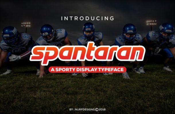 Spantaran Typeface Free