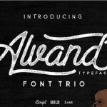 Alvand Font Family Free