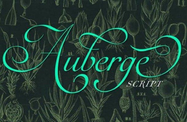 Auberge Script Font Free