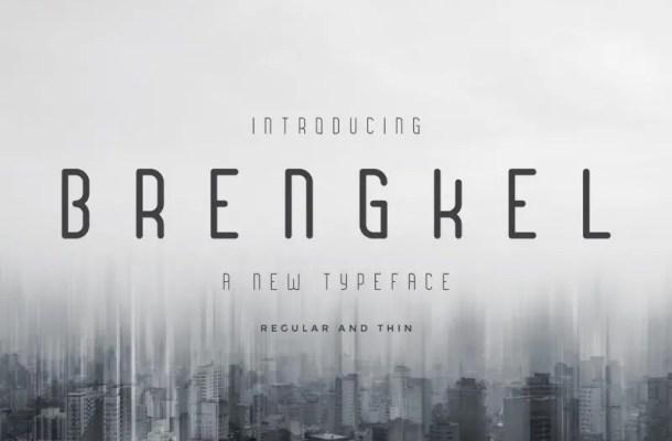 Brengkel Typeface Free