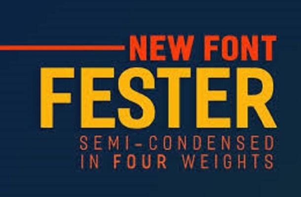 Fester Font Free