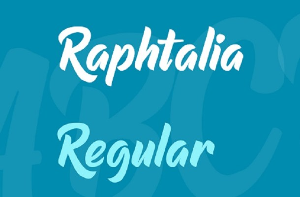 Raphtalia Script Font Free