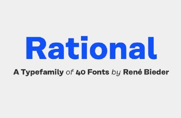 Rational Font Free