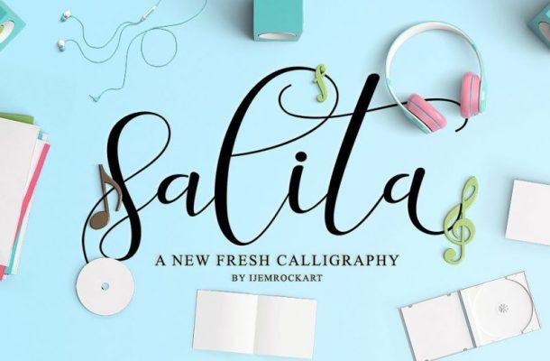 Salita Script Font Free