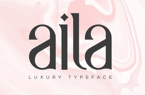 Aila Typeface Free