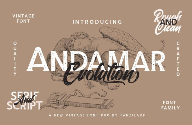 Andamar Font Family Free