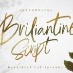 Briliantine Script Font Free