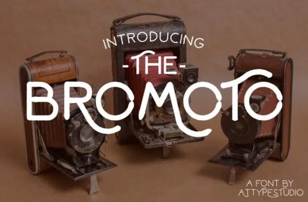 Bromoto Typeface Free