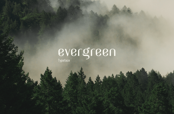 Evergreen Typeface Free
