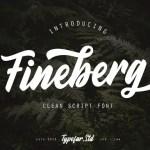 Fineberg Script Font Free