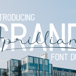 Grand Aprilliant Font Duo Free