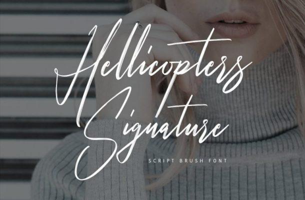 Hellicopters Script Font Free
