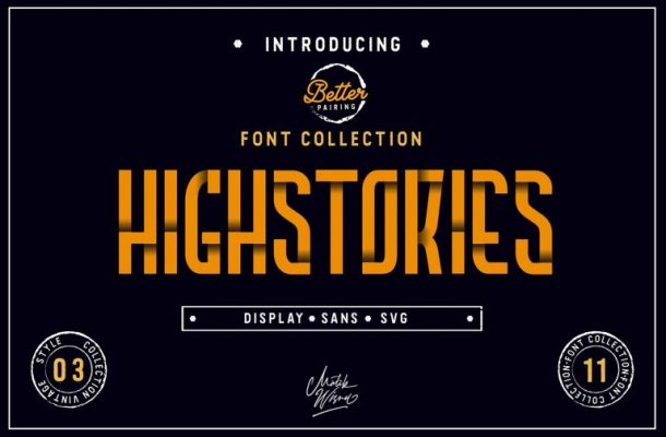 Highstories Font Family Free