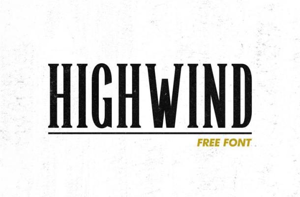 Highwind Typeface Free