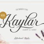 Kaylar Script Font Free