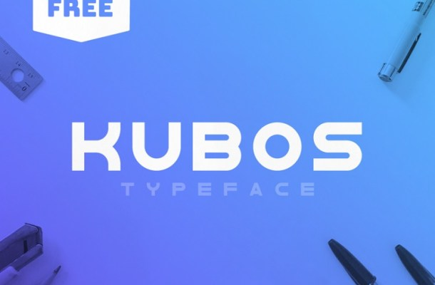 Kubos Display Typeface Free