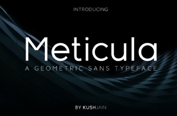 Meticula Font Family Free