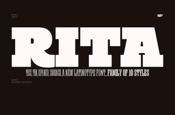 Rita Font Family Free