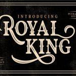 Royal King Typeface Free