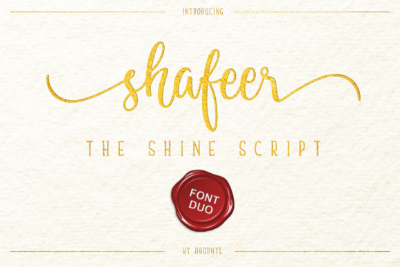 Shafeer Font Duo Free