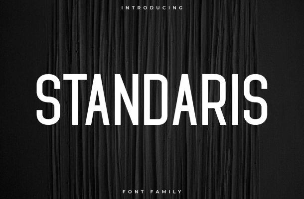 Standaris Font Family Free