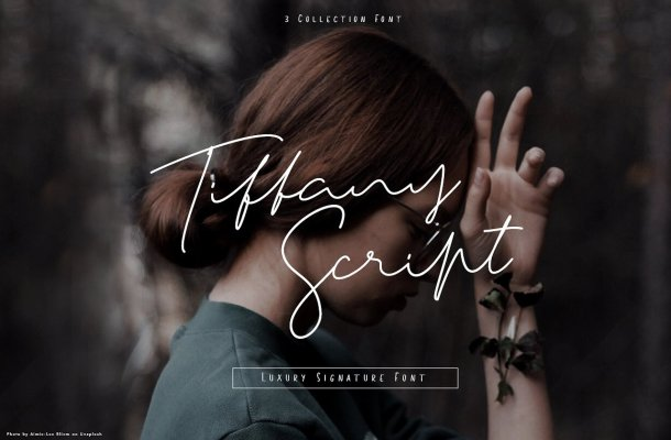 Tiffany Handwritten Font Free