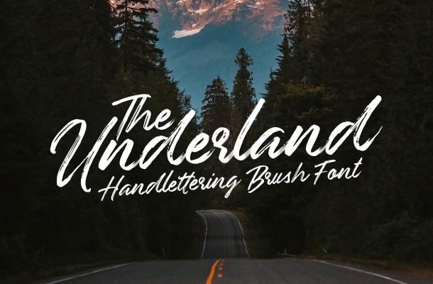 Underland Script Font Free