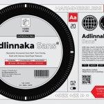 Adlinnaka Font Family Free