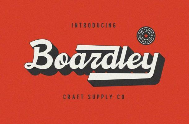 Boardley Script Font Free