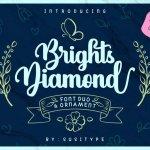 Brights Diamond Script Font