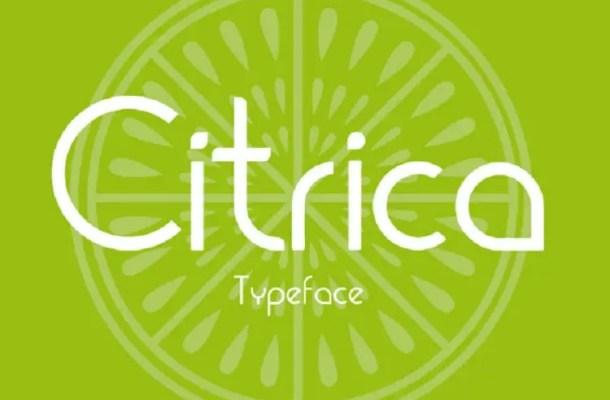 Cítrica Font Free