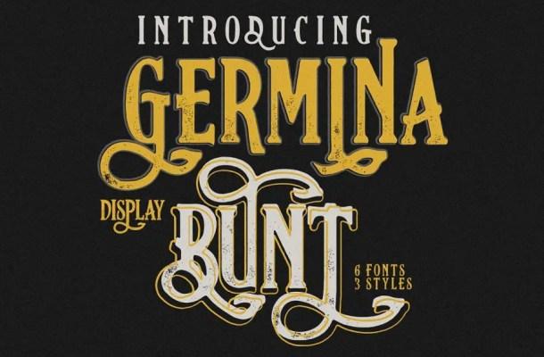 Germinabunt Typeface Free