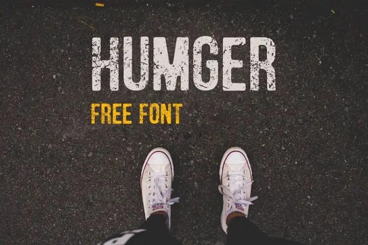humger-font