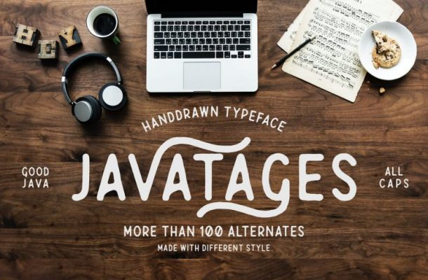 Javatages Typeface Free