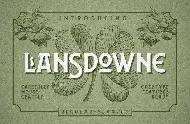 Lansdowne Typeface Free