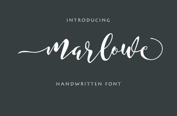 Marlowe Script Font Free