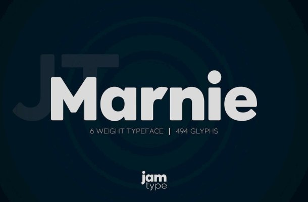 Marnie Font Family Free