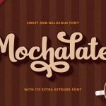 Mochalate Script Font Free