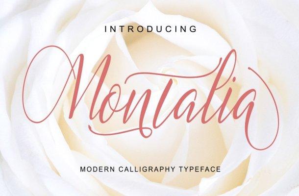 Montalia Script Font Free