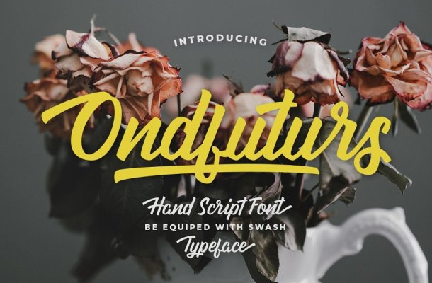 Ondfuturs Script Font Free