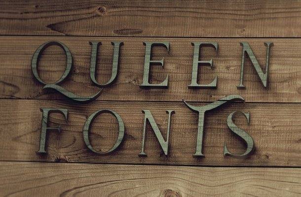 Queen Display Font Free