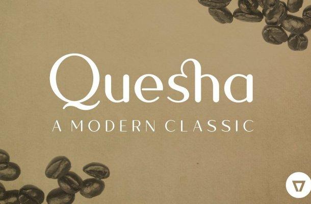 Quesha Typeface Free