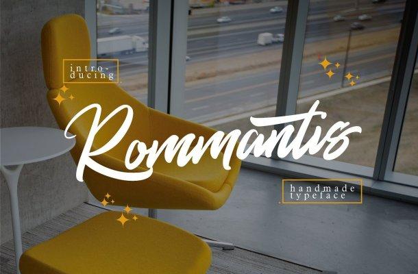 Rommantis Script Font Free